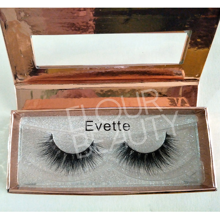 Private label 3d mink eyelash strips wholesale China ED100