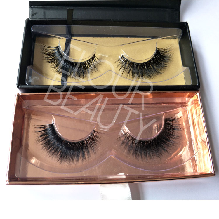 Wholesale fashion lady 3D mink lashes custom packaging vendor China EL42