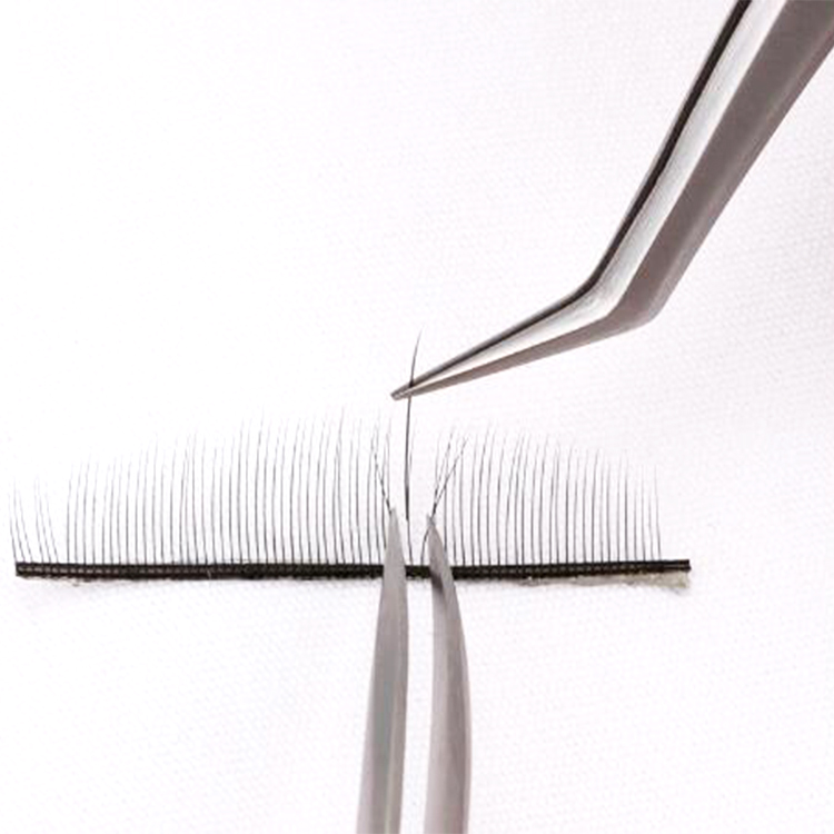 Private label best Russian volume eyelash extensions tweezers wholesale EY52