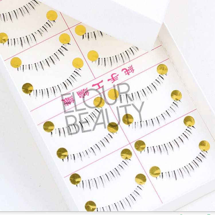 High quality synthetic bottom false lashes ES62