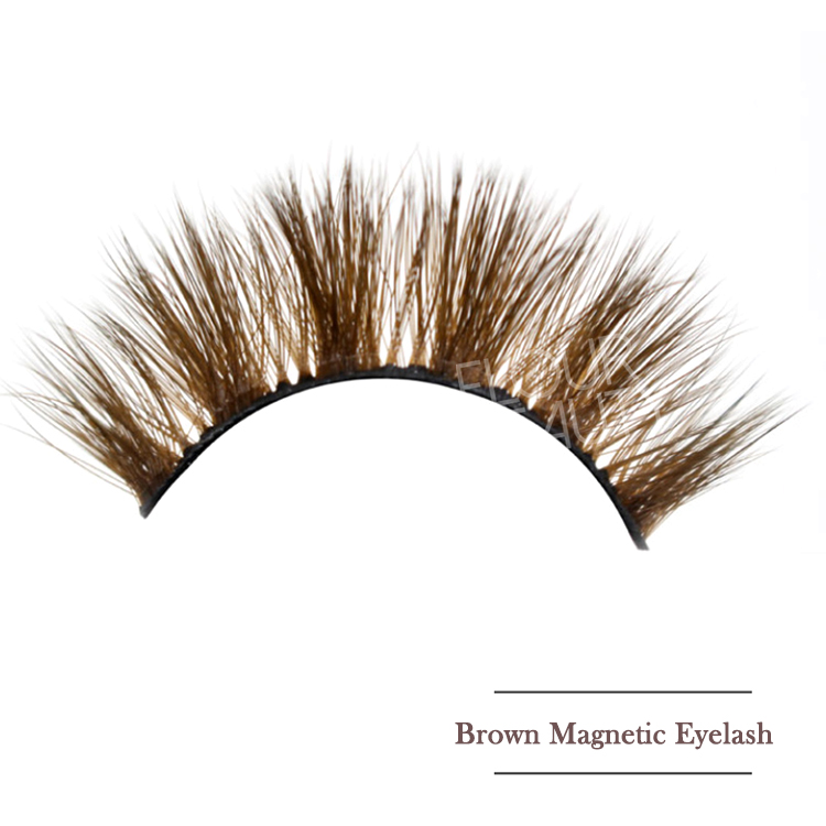 2021 newest brown color magnetic eyeliner for 6D magnetic eyelashes private label EY80