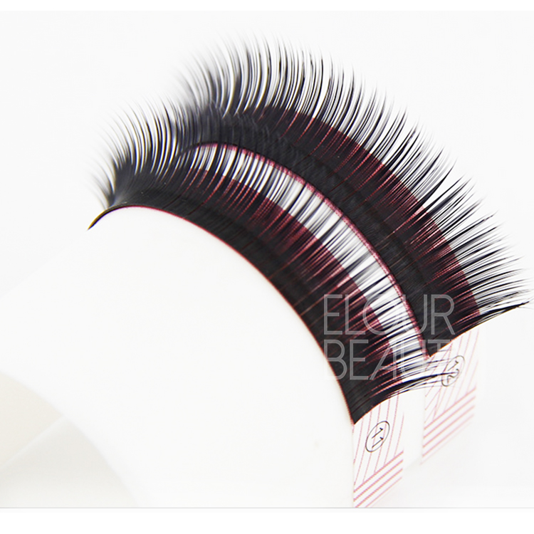 Top quality private label korean eyelash extensions EJ50