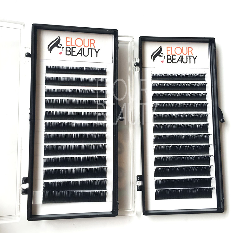3D silk private label eyelash extension products manufacturers EL107