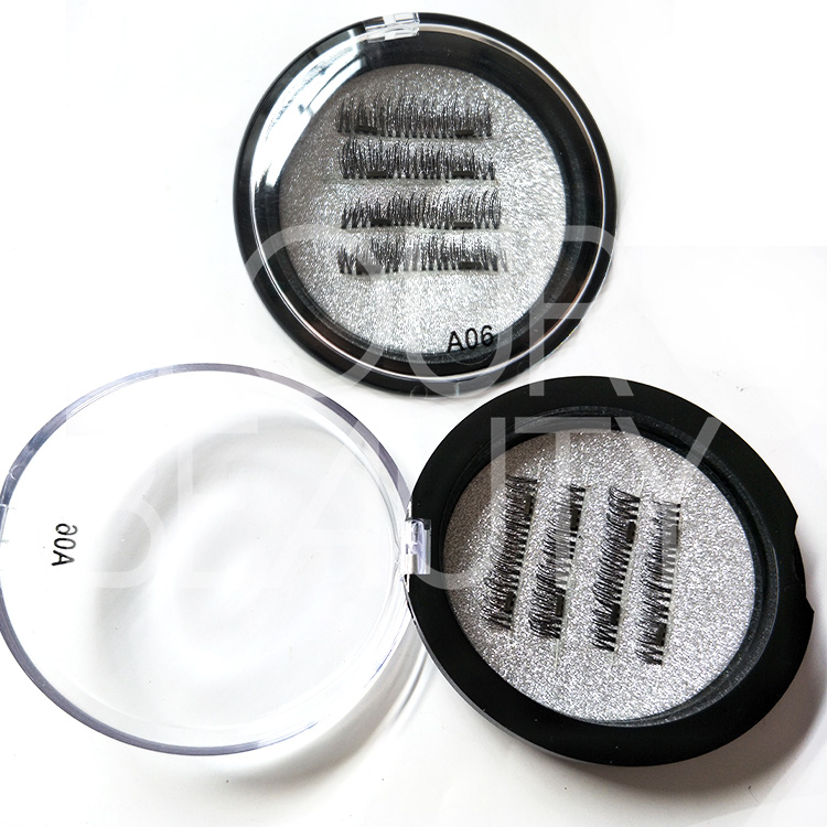 Reusable magnetic eyelashes private label packages manufacturer ED52