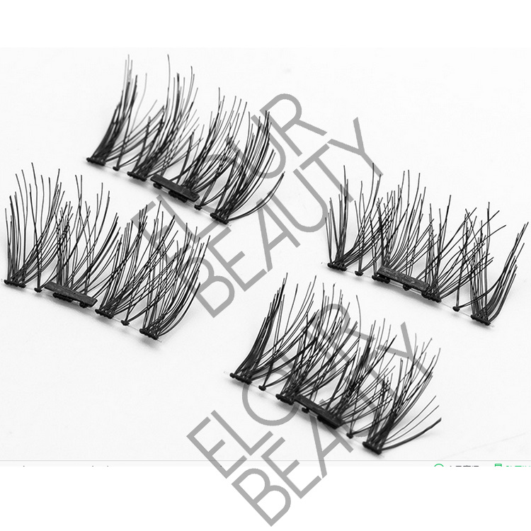 Magnetic 3d lashes best natural looking eyelashes China EJ95