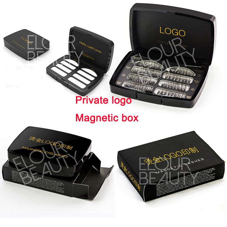 883fbbc352d 3D magnetic lashes with acrylic private label box wholesale EA90 ...