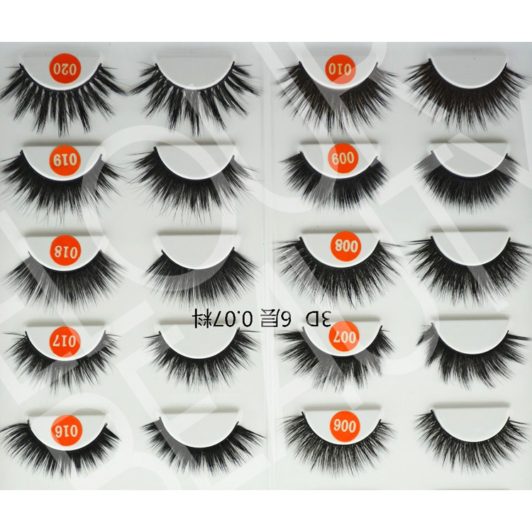 Soft 3D volume silk lash different kinds large quantity wholesale EA116