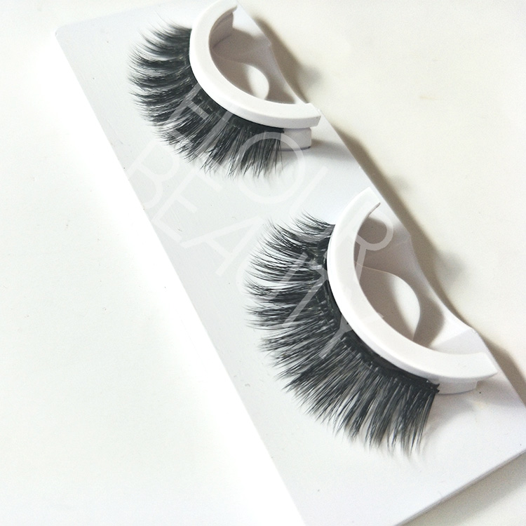 Newest self-adhesive 3d silk lashes China wholesale ED13