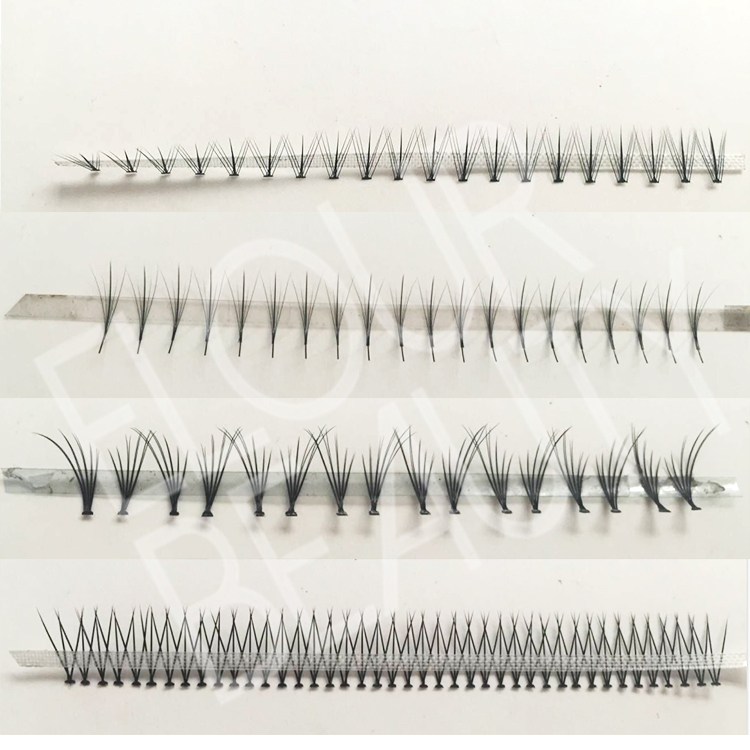 Wholesale individual flare eyelash extension blooming volume ED102