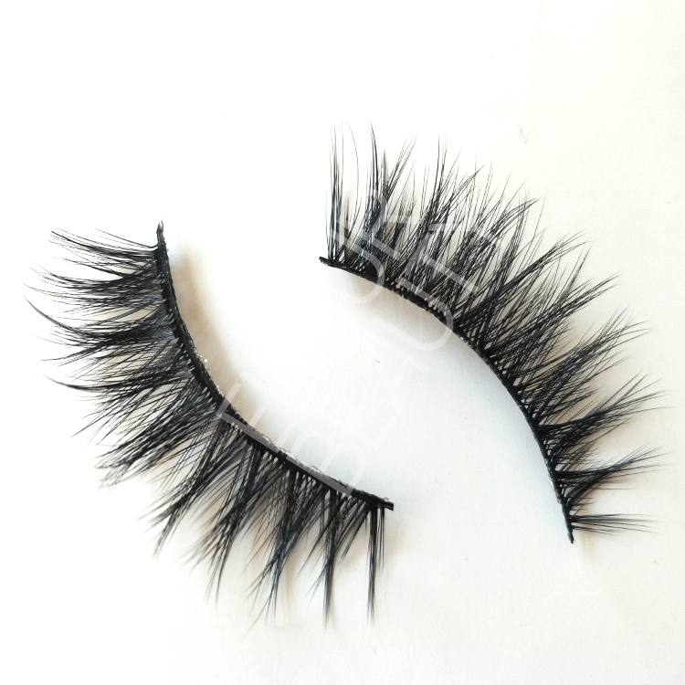 Wholesale 3D faux mink volume false lashes manufacturer ED49