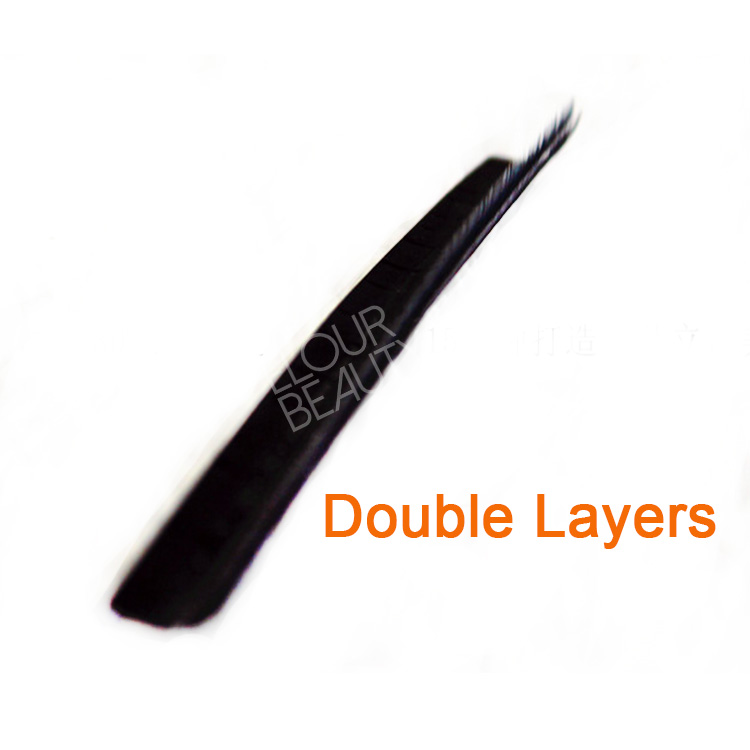 Newest 3D layered double curls fanned eyelash extensions EJ20