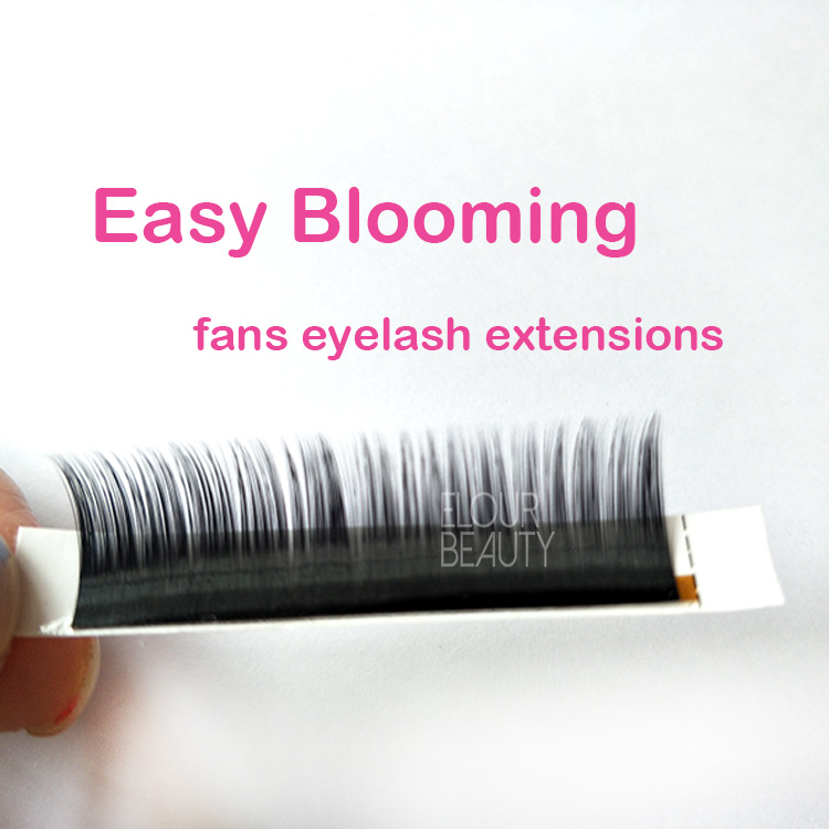 Russiam volume eyelash extensions quick auto blooming lashbeauty supplies EL74