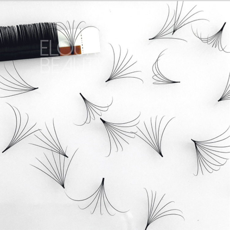 Easy fan eyelash extensions fans volume blooming e...