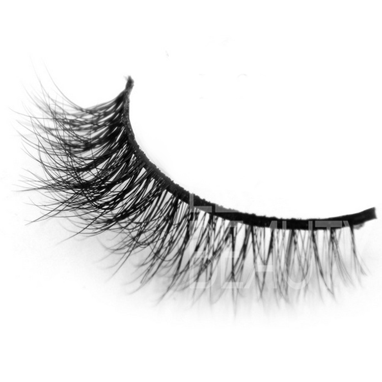 New arrival 3d doule layered best false eyelashes in private label ES14