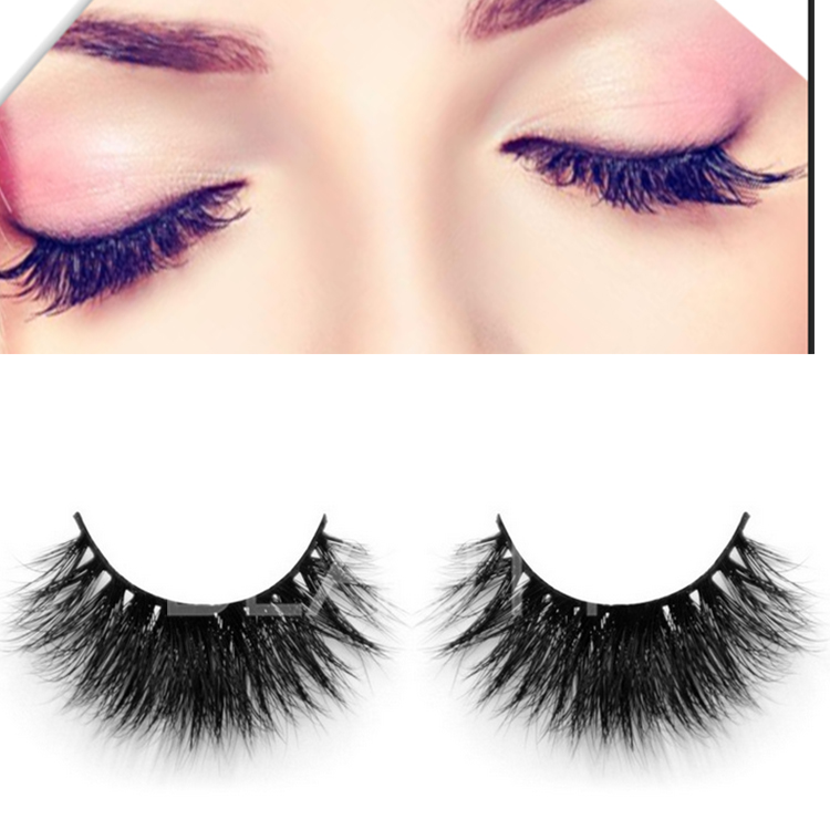 3D real mink thicker eyelashes private label wholesale EJ 94