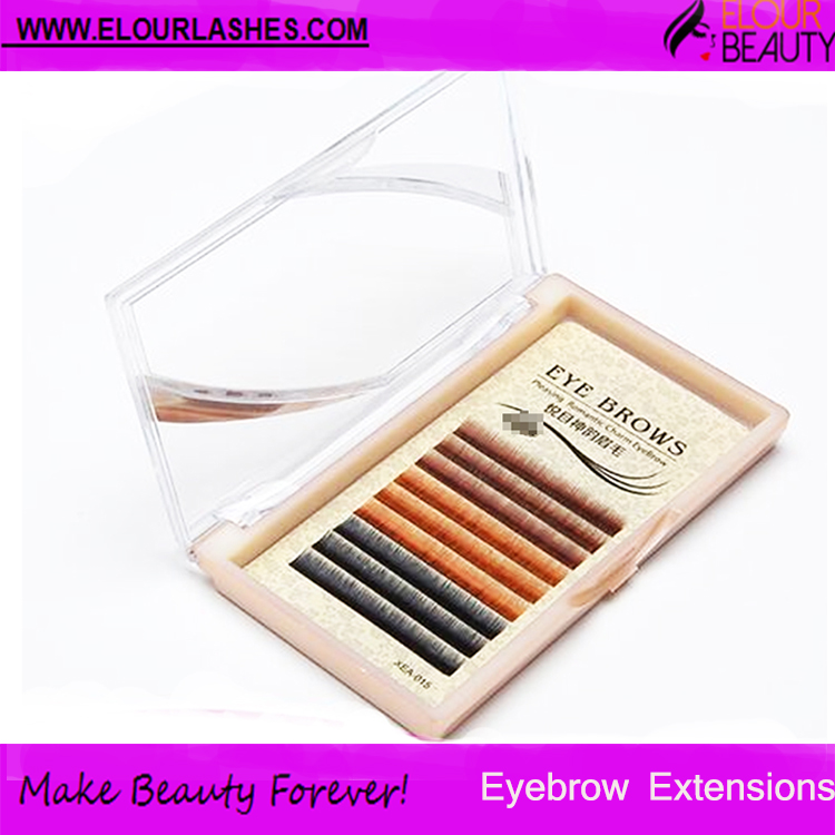 Eyebrow extensions