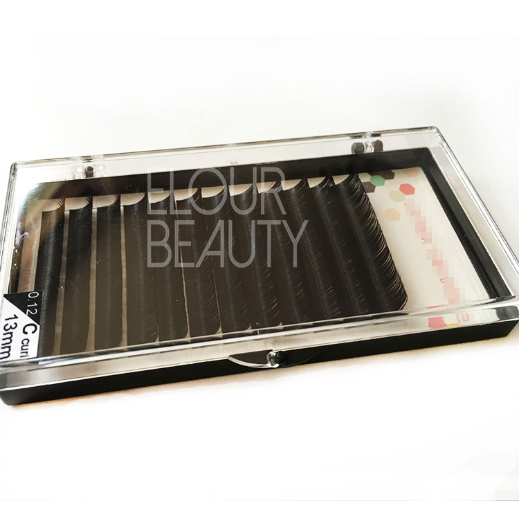 Wholesale silk eyelash extensions supplies China EJ68