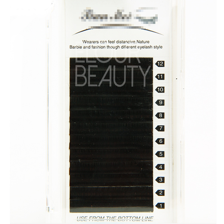Premium matte korean PBT eyelash extension EJ11