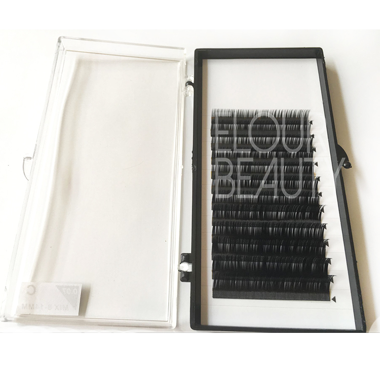 Hotsale mink eye lash extensions China manufacturer EJ67