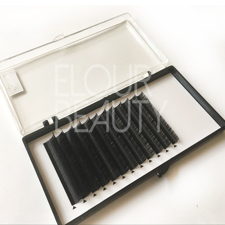 Soft matte ellipse flat best lash extensions EJ46