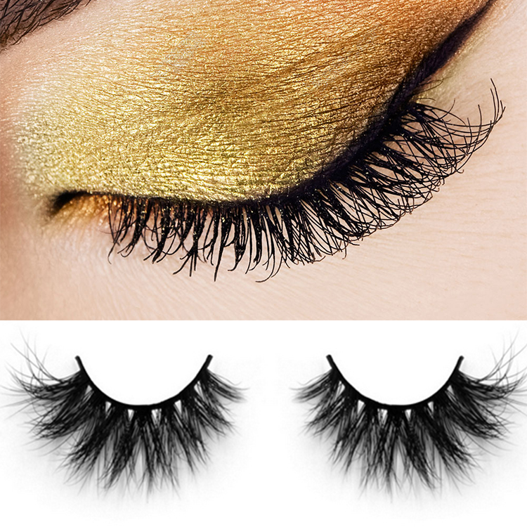3D real mink false eyelashes the best fake eyelashes ES16