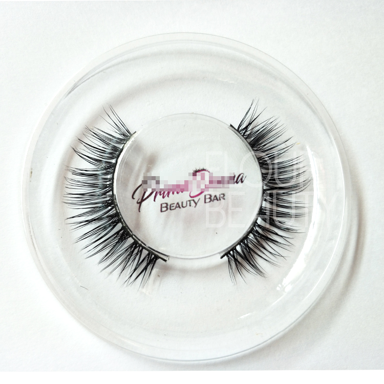 Private label black band mink eyelashes wholesale China ED113