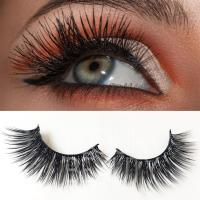 Factory price large stock velvet long 3D silk lash extensions ES9