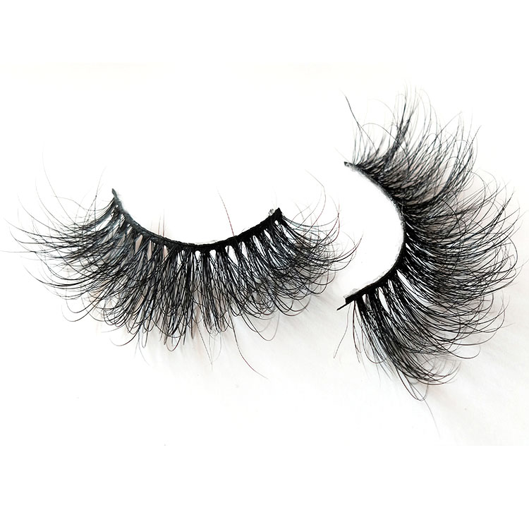 Customize fluffy 8D mink eyelash vendors wholesale cheap price