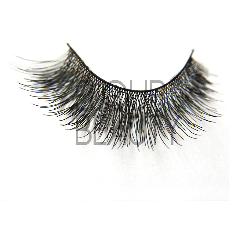 Gold cheap eyelashes with best eyelash glue ES77