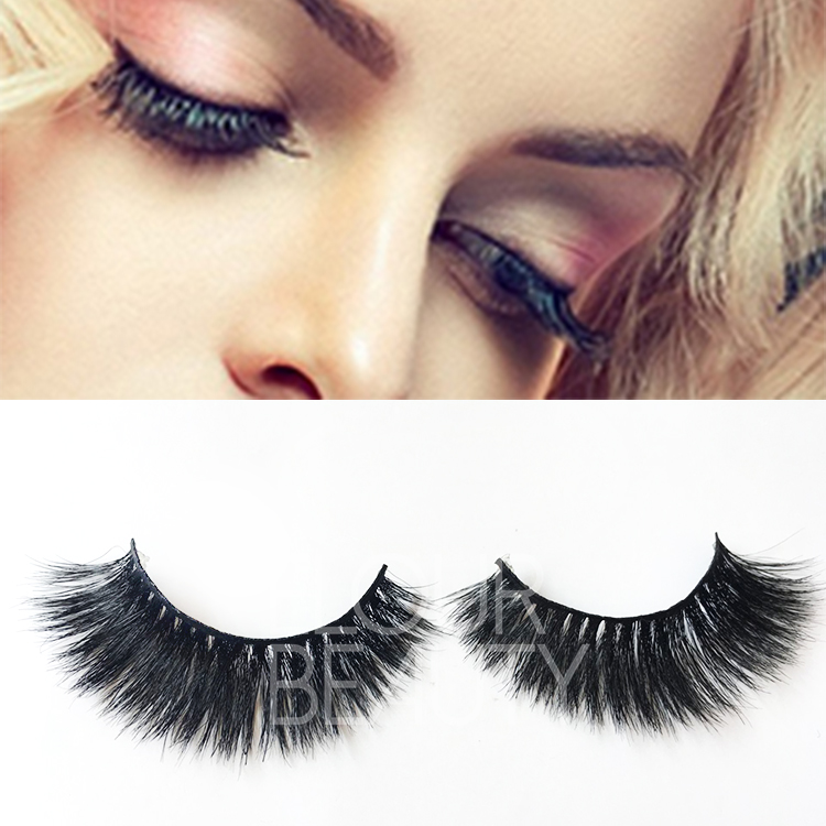 Wholesale private label cheap horse artificial eyelashes ES105
