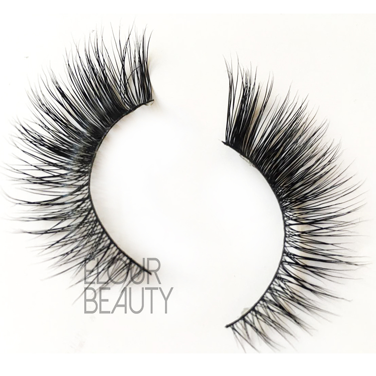 Hot selling mink fur eyelashes in private label for nyc ES5