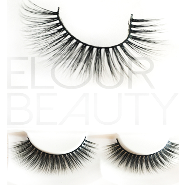 Customized packaging 3D silk eye lash growth ES32