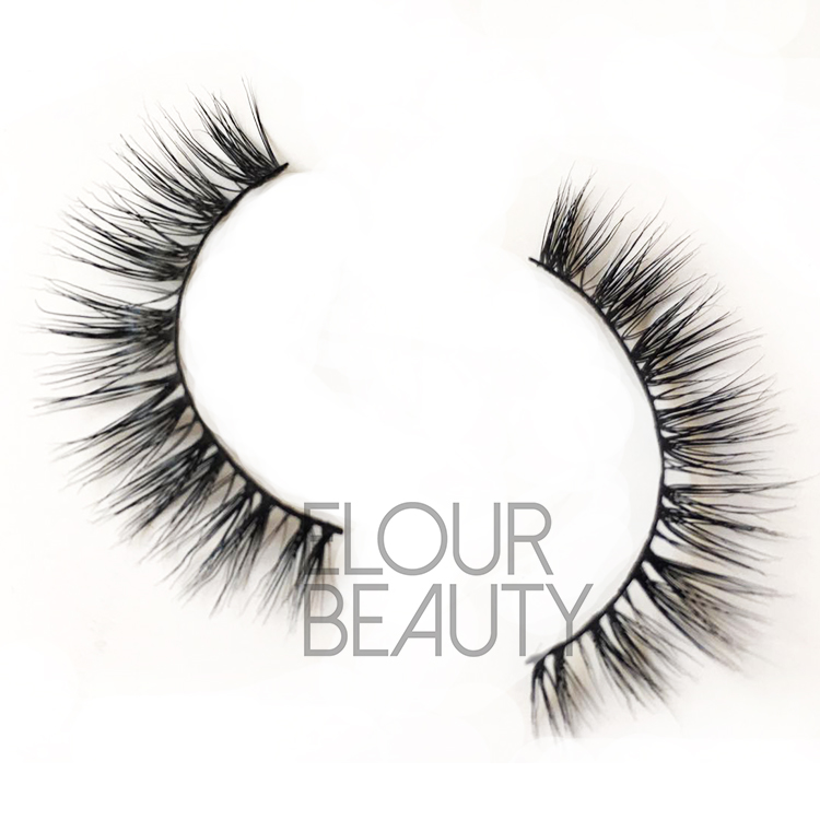 Wholesale mink strip lashes China manufacturer ED04