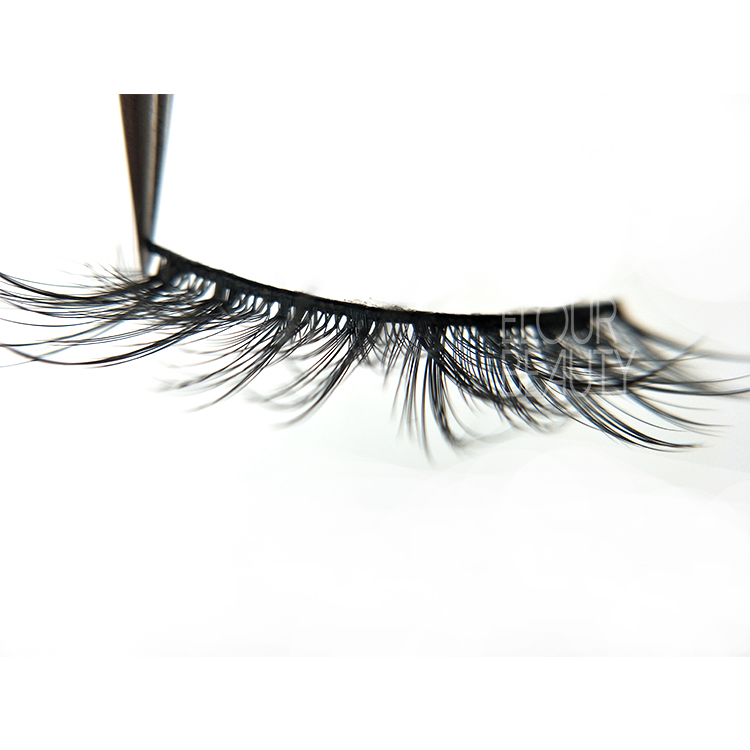 Velvet 3D faux mink volume eyelash manufacturer UK ED75