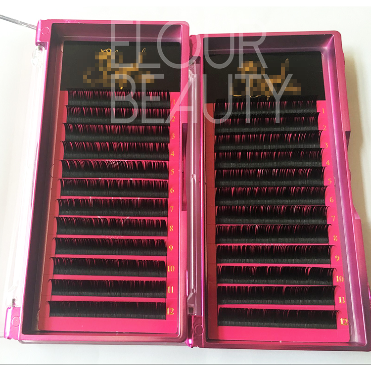 Own brand soft Korean silk mimk eyelash extensions las vegas ES27