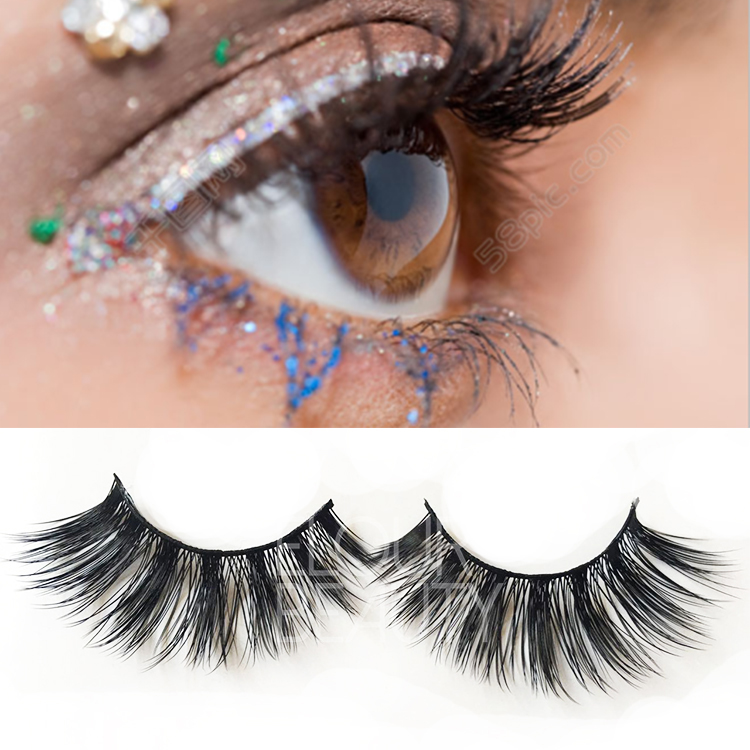 Wholesale cheap longer 3D silk eyelashes reviews ES11
