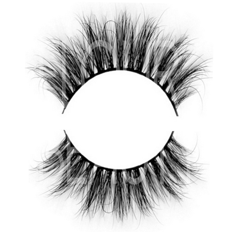 3D double eyelashes in mink fur make eyelashes grow longer ES96