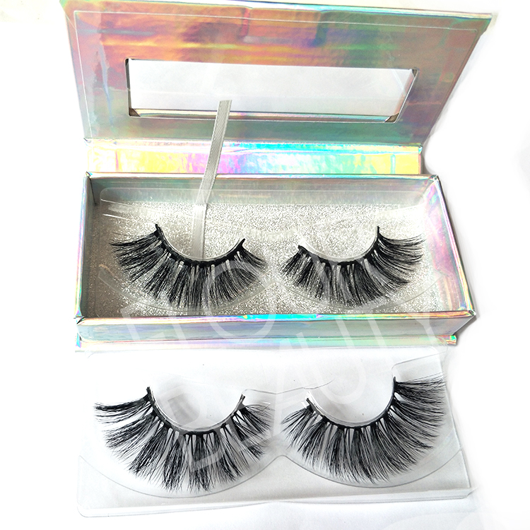 148db79024e Russian volume double 3D layer faux mink eyelashes vendors China EL27