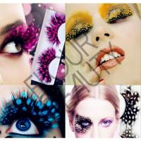 Crazy halloween celebrity false eyelashes wholesale EA69