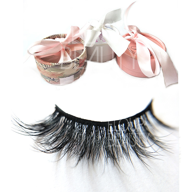 New fashion 3D volume mink love lash cheap price factory supplies EL29