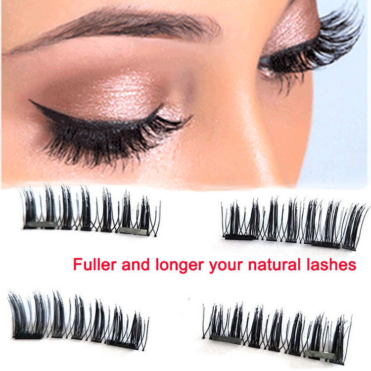 cb8295c0edc No glue magnetic reusable false eyelashes private label EA87 - Elour ...