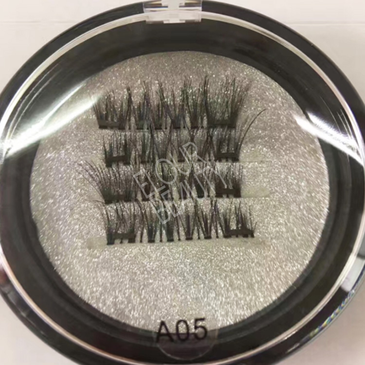 Natural long magnetic eyelashes false China manufacture EA52