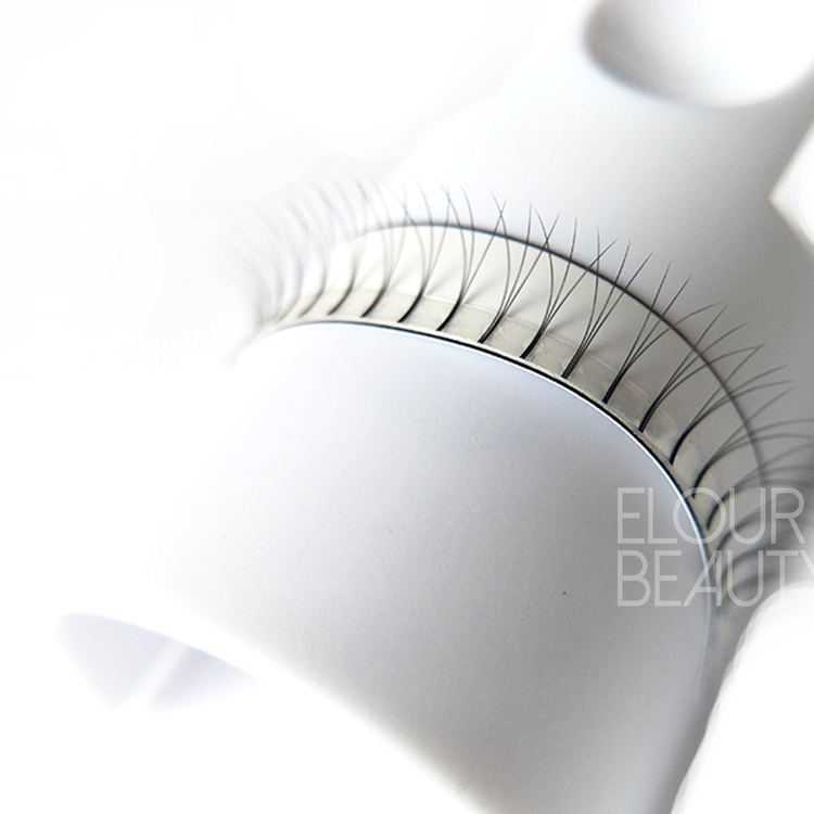 Rootless 0.05 Russian Volume 3D Mink Eyelash Extensions Reliable Supplier China EL11