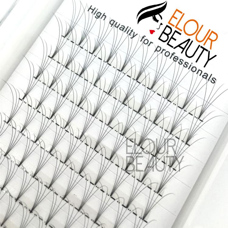 5198eb00d2f Pre-made volume fans 2D-10D eyelash extension bulk production manufacturer  China EL73