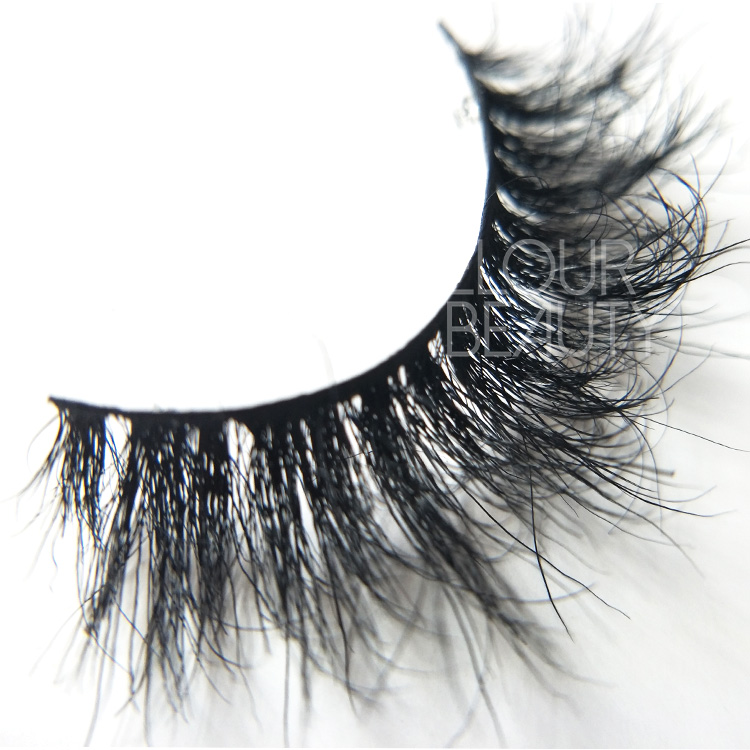 Luxury horse hair 3d lash extensions China supplies EA123