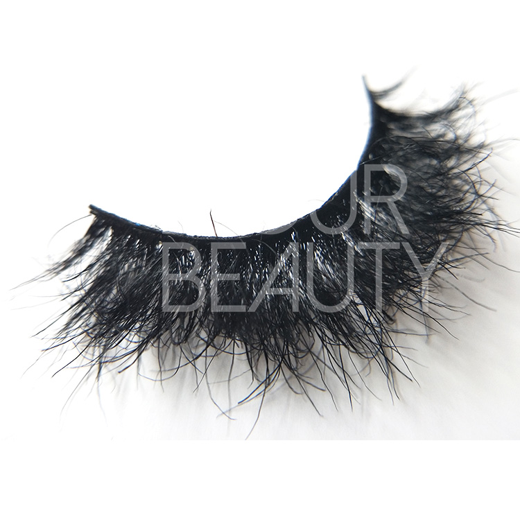Extreme fluffy 3D styles horse lashes customized factory EA121