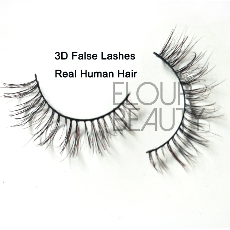 a6612b5295b Best newest 3D human hair lashes same ardell lashes uk ED64 - Elour ...