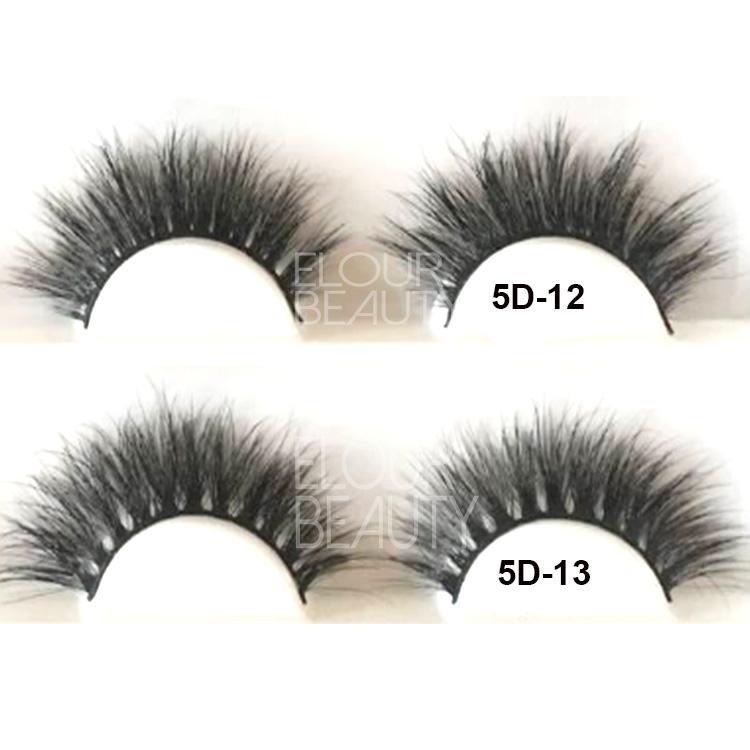 63d99ab5a21 2018 the newest 5D mink fur eyelashes China factory wholesale EL62 ...