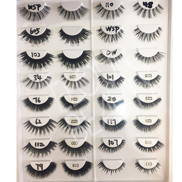 different styles of human hair eyelashes.jpg