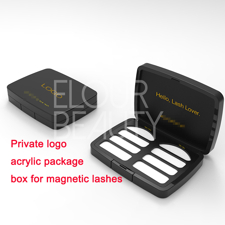 acrylic package boxed for magnetic lashes China.jpg
